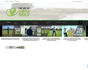 WELCOME TO THE ART OF SIMPLE GOLF - The Art of Simple Golf