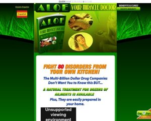 eBook Aloe - Your Miracle Doctor