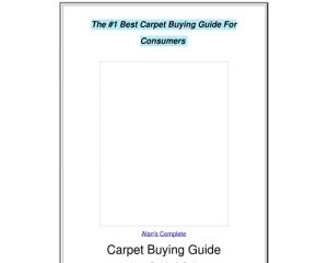 The Complete Carpet Buying Guide by Alan Fletcher