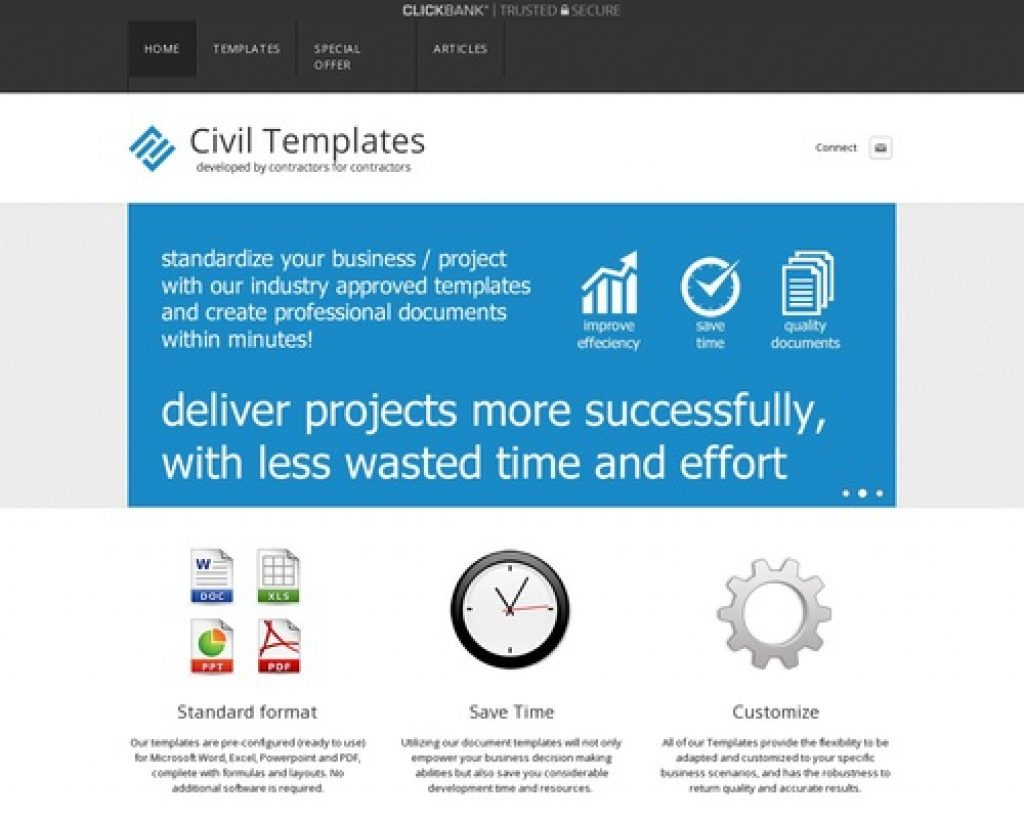 Template Store - Project Management Document Templates