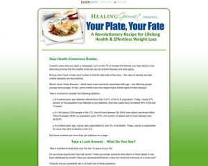 Your Plate, Your Fate | A Revolutionary Recipe for Lifelong Health & Effortless Weight Loss