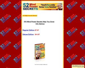 52 Mind Power Secrets.