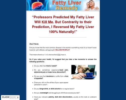 Fatty Liver Remedy