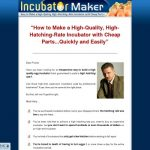 Incubator Maker - How to Make a High-Quality, High-Hatching-Rate Incubator with Cheap Parts!
