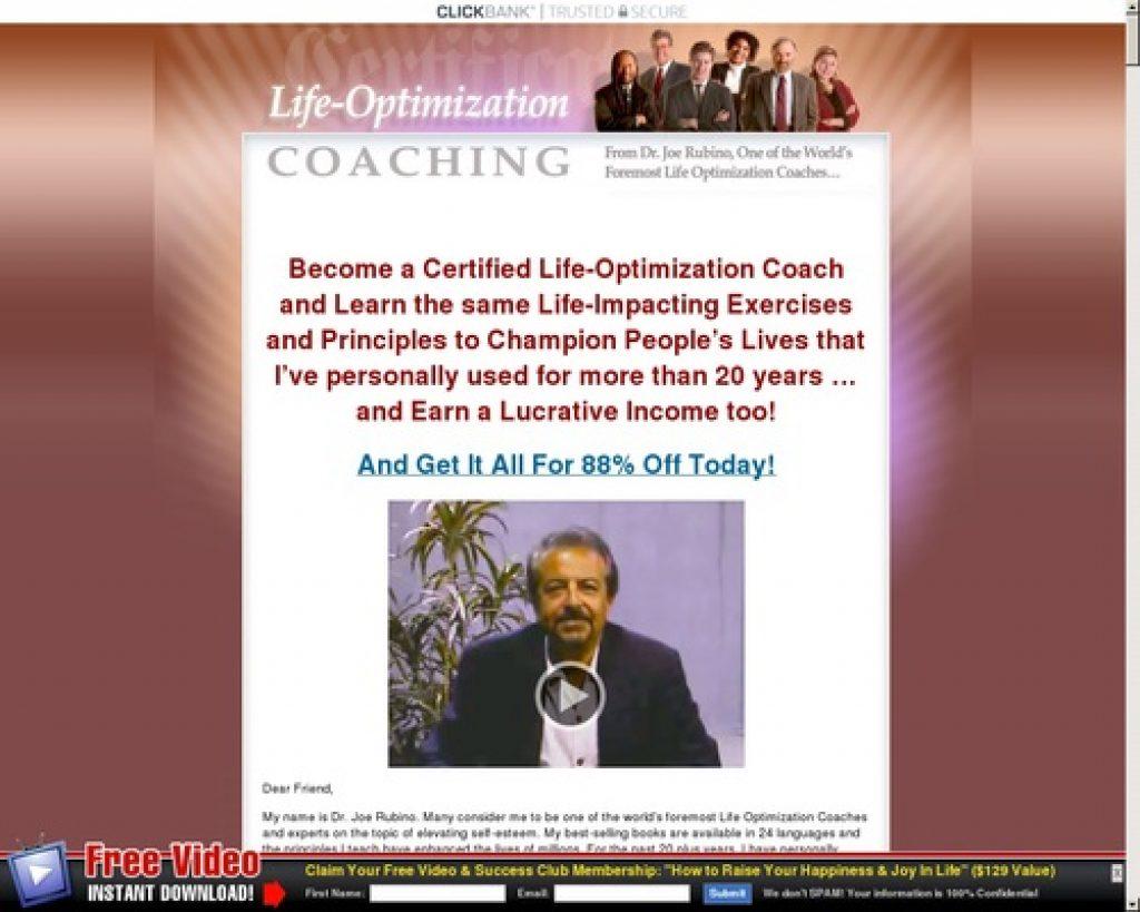 Best Certified Life Coaching Program, Life Coach Certification Online - lifeoptimizationcoaching.com