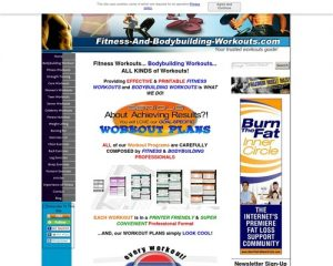 Fitness Workouts and Bodybuilding Workouts