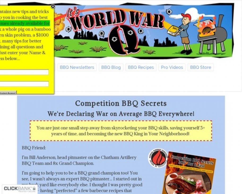 The BBQ Book Competition BBQ Secrets - Championship Barbecue Recipes
