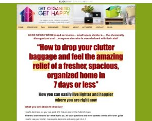 Get Organized - Get Happy