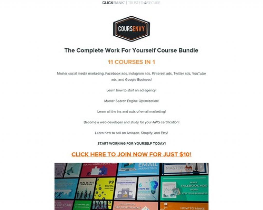 Coursenvy ClickBank Mastery Bundle | Coursenvy