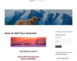 How to Sell Your Artwork -