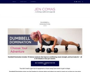 Dumbbell Domination - Jen Comas