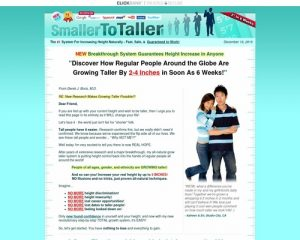 Grow taller and increase your height naturally with PROVEN scientific research!