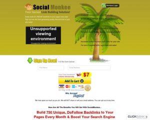 SocialMonkee - Your Instant Backlink Builder!
