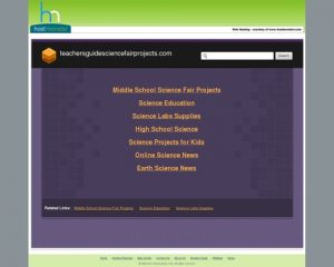 Teachers Guide Science Fair Projects -