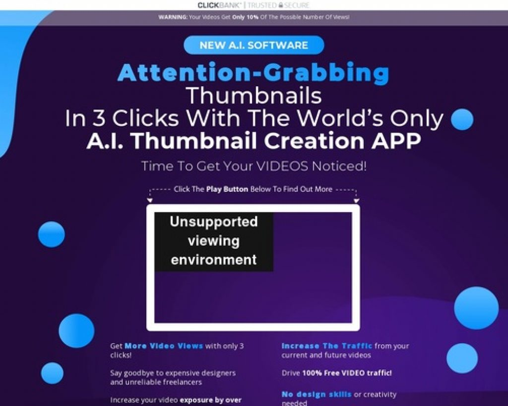 Thumbnail Blaster | The Ultimate THUMBNAIL Creation Solution - Create Attention-Grabbing Thumbnails With 3 Clicks
