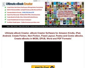 eBook Creator Software - Ultimate eBook Creator For Amazon Kindle