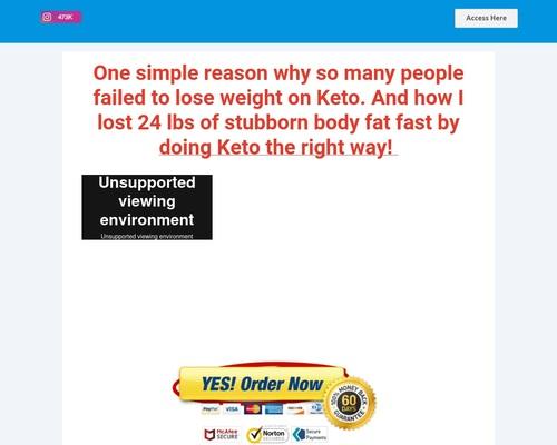 Start 4-Week Easy Keto Challenge
