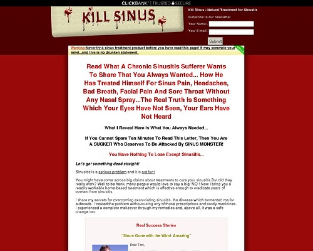 Sinus Treatment | Sinus Infection | Sinus Home Remedy