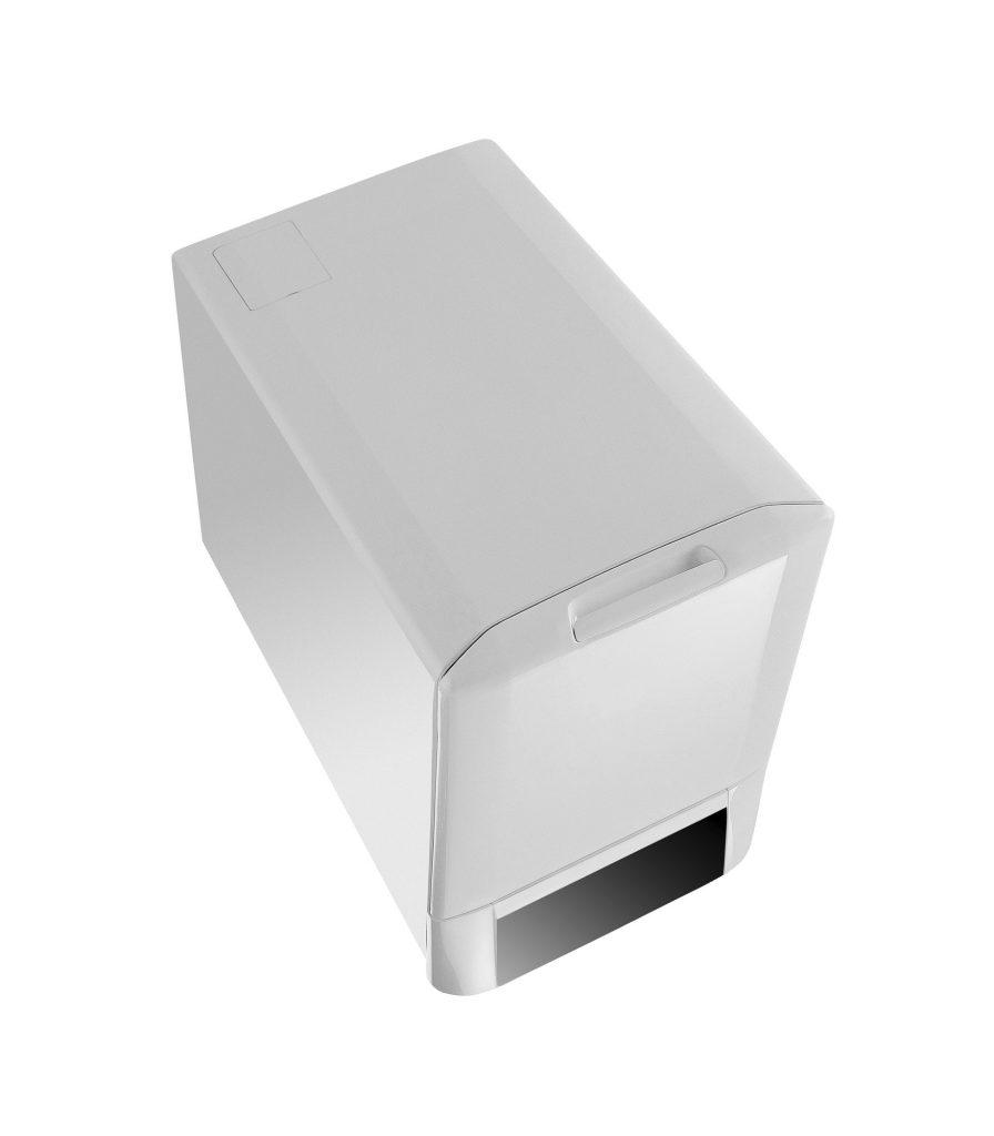 electric shredder isolated on white background